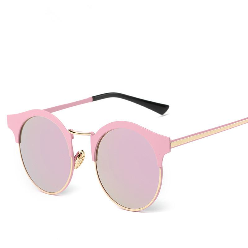 2016 Brand designer Round Sunglasses Women Oculos UV400 Points sun glasses fashion Female eyewear Women's shades outdoor sports(China (Mainland))