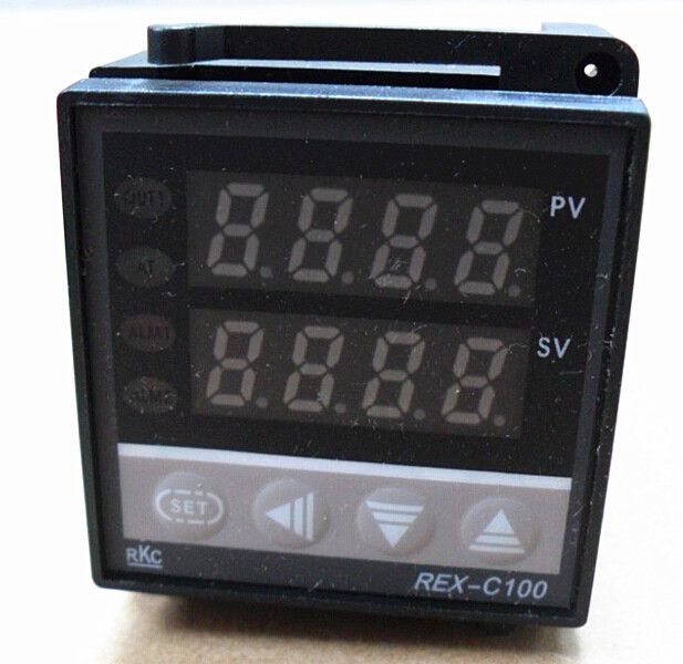 Free shipping! New Dual Digital PID Temperature Controller RKC REX-C100 48*48 k type(China (Mainland))