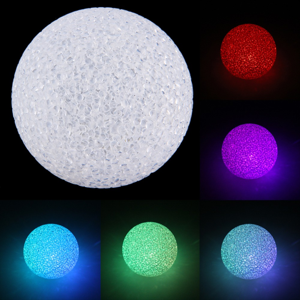 Colorful Changing LED Night Light Crystal Ball Shaped Lamp Room Decor Gift Brand New<br><br>Aliexpress