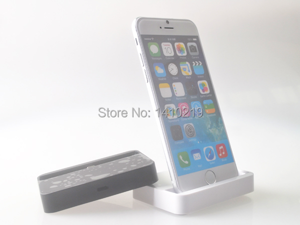 1pcs free shipping Dock Charger(Base Dock Charger )support IOS 8 for iphone 6/iphone 6plus iTouch 5
