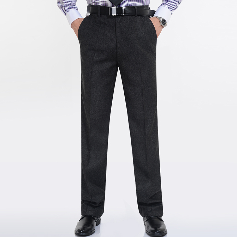 Best buy coupons code - Winter Thicken Men S Suit Pants Cashmere High Quality Woolen Trousers