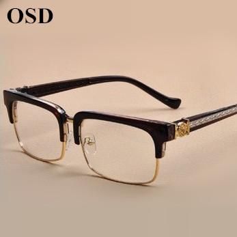 Eyeglasses Frame In Spanish : 2015 women arrival fashion men designer retro with brand ...