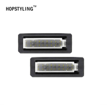 Buy HOPSTYLING 2x Error Free 18SMD Benz Smart fortwo LED License plate light Car Led Number License plate Lamp Auto lighting for $14.14 in AliExpress store