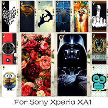 Buy Case Sony Xperia XA1 G3121 G3123 G3125 G3112 G3116 Silicone Plastic Bag Shell Flower SuperMan Case Sony Xperia XA1 Cover for $1.28 in AliExpress store