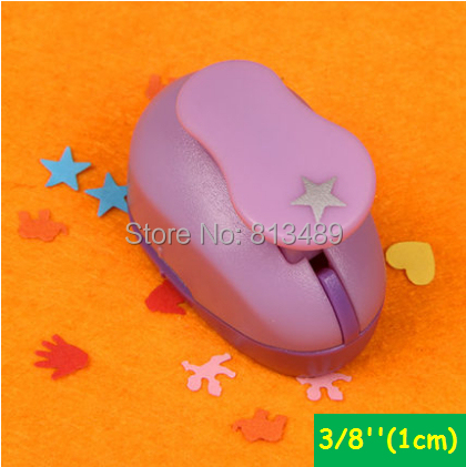 free ship 3/8'' 1cm star scrapbooking punches craft perfurador paper punch for kids furador diy puncher cutter W31756(China (Mainland))