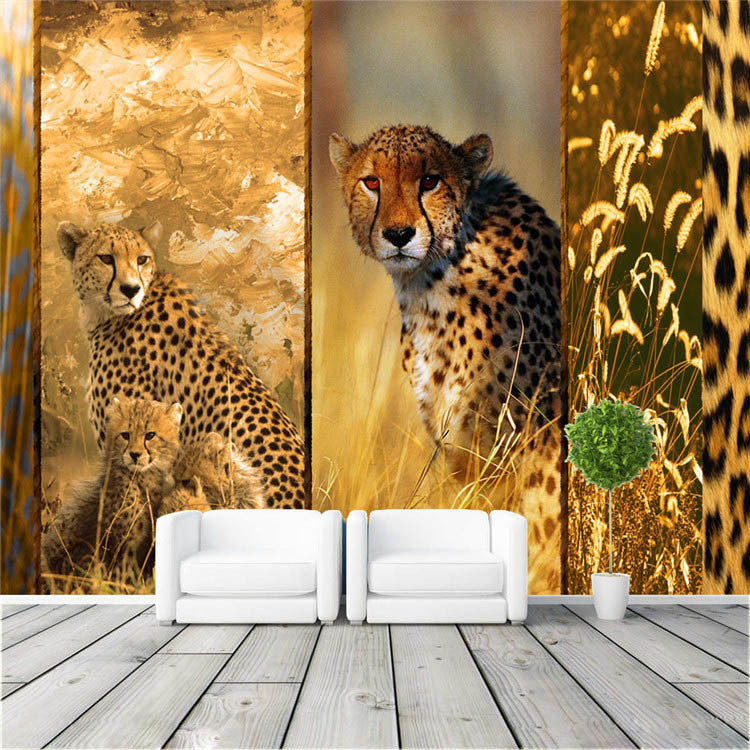 animal world bedroom hallway in wallpapers from home improvement on