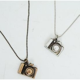 2014 Hot Sale Promotion Romantic Unisex Figaro Chain A204 Retro Mini Camera Long Chain Necklace Wholesale Free Shipping!!!!!(China (Mainland))