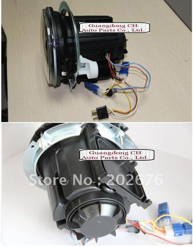 FREE SHIPPING, 2008-2012 CHA W463 G400 G500 MERCEDES BENZ HEADLIGHT V2, WITH 2PCS BI-XENON PROJECTOR<br><br>Aliexpress