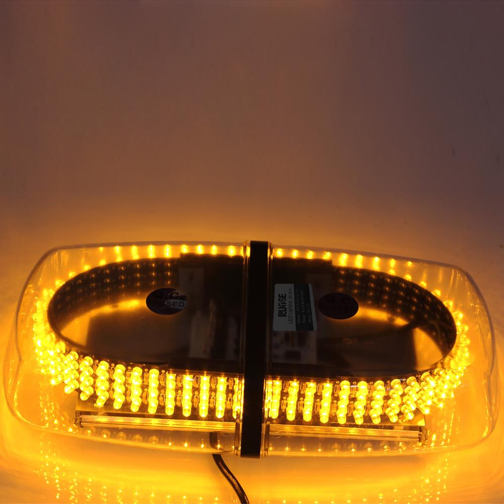2015 New Rupse Brand LED Amber Emergency Hazard Warning LED Mini Bar Strobe Light / Magnetic Base-Yellow Color(China (Mainland))