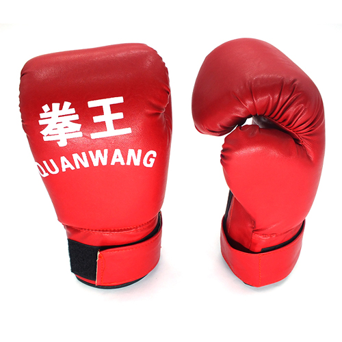 High Quality New PU Muay Thai Gloves Boxing Sanda Gloves Sandbag Fitness Training Sports Sets(China (Mainland))