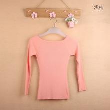 Free Shipping Autumn and Winter basic Sweater female slit neckline Strapless Sweater thickening sweater top thread slim C0320(China (Mainland))