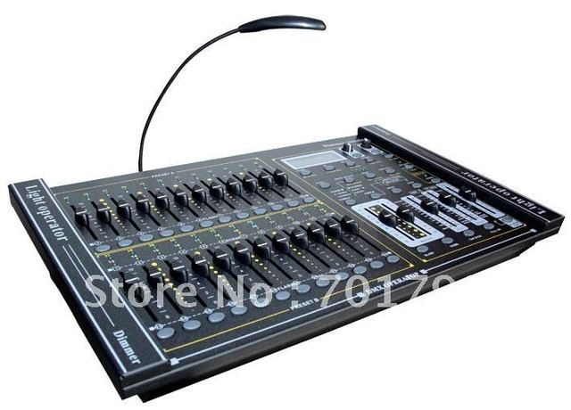 DMX controller;SO 1314;24-channel DMX-512 dimming console