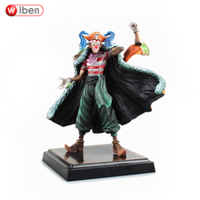 Anime One Piece Buggy PVC Action Figure Collection Model Toy Gift