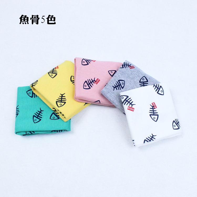 2015 anchors dophine fawn strip star bear flag grid cotton soft kids neckchief baby scarf kids scarf children collar(China (Mainland))