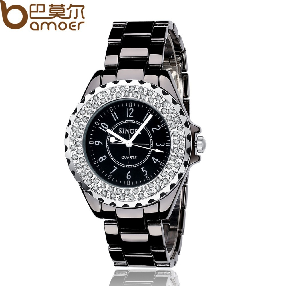 Bamoer Fashion Lovers Quartz Women's Watch For Fashion Accessory Water Proof Gift for Birthday With Free Shipping XCM1014/1015(China (Mainland))