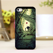PZ0004-13-11 Cute Cartoon Art Design Customized cellphone transparent cover cases for iphone 4 5 5c 5s 6 6plus Hard Shell