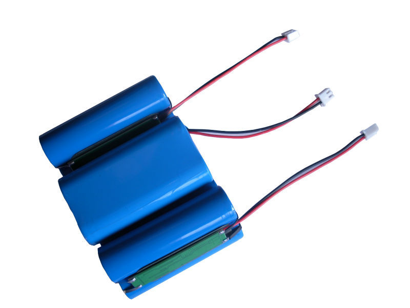 High capacity 3 7V rechargeable lithium battery 6000mAh 1S3P 18650 li ion battery pack