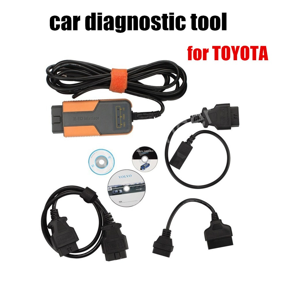 high quality Original XHORSE MVCI 3 IN 1 V8.10.021 For Toyota For Volvo Support Multi-languages car scanner OBD II(China (Mainland))