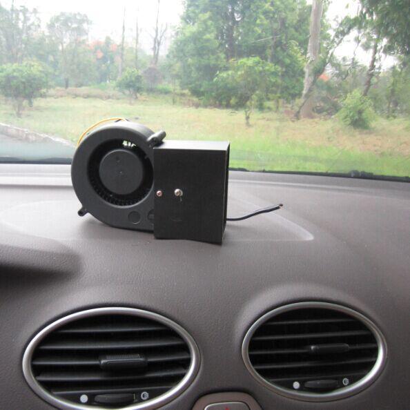 Windscreen demister defroster car heater cooling 2in1 fan for 12v window defroster