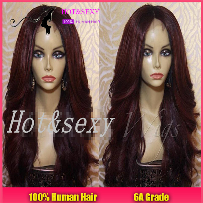 Гаджет  7A 99j Lace Front Wig Virgin Brazilian 99j Human Hair Wig Glueless Full Lace Wig With Baby Hair Natural Hairline For Black Women None Волосы и аксессуары