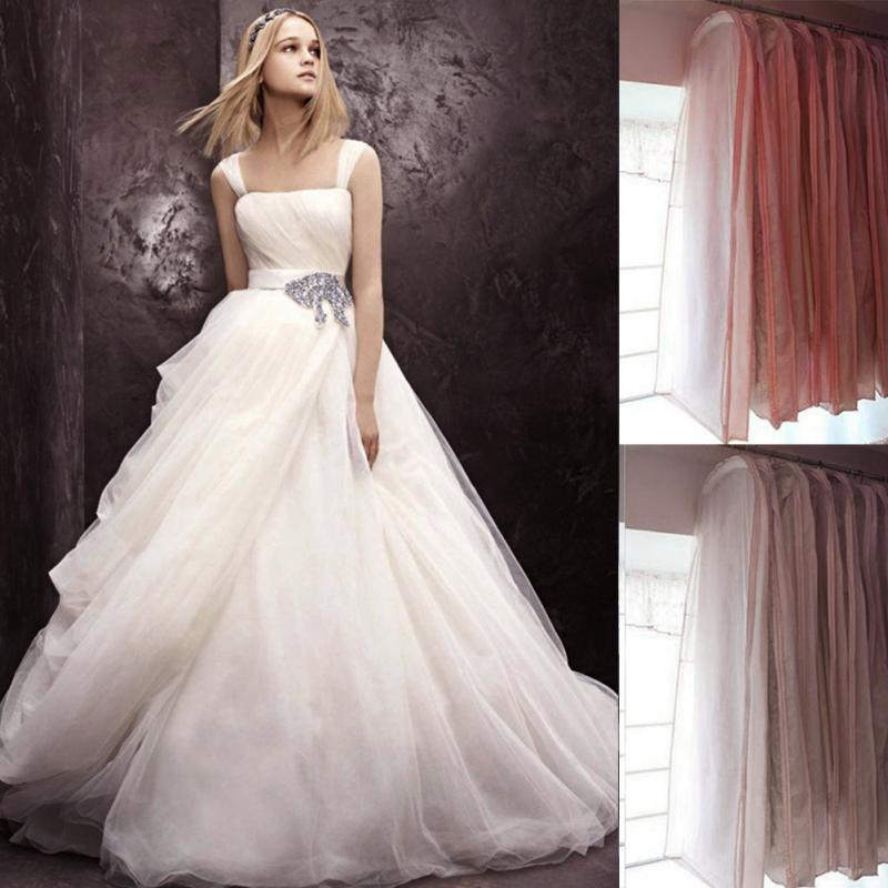 Exquisite Length 150 Wedding Dress Bags Clothes Cover Dust Cover Garment Bags Bridal Gown Men\'s Clothing Dust Bag(China (Mainland))