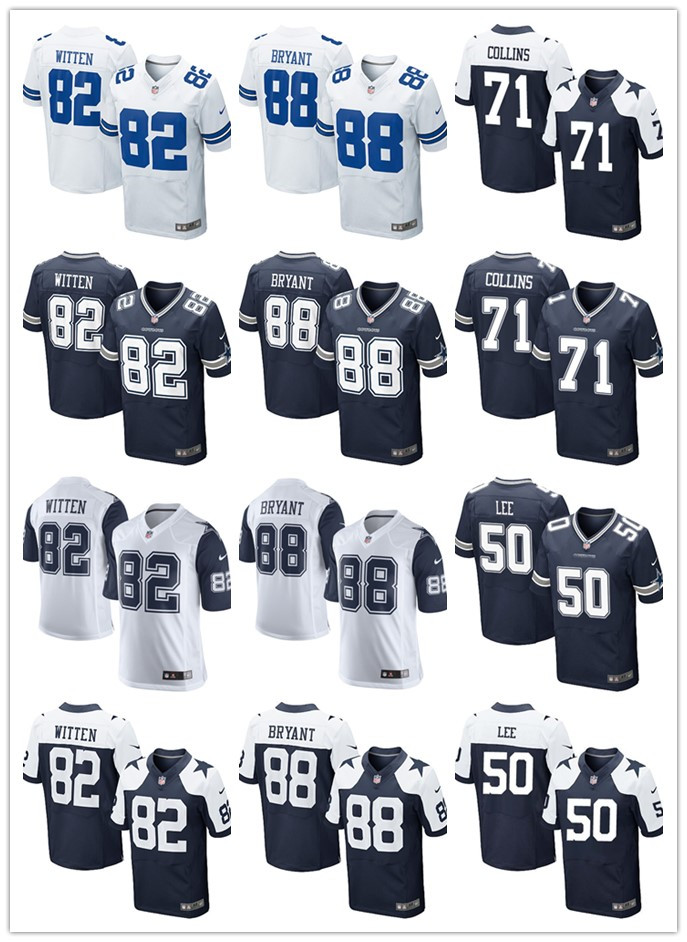 Top quality Free Shipping stitched Jason Witten Dez Bryant Sean Lee Lael Collins for YOUTH KIDS stitched Dalla(China (Mainland))