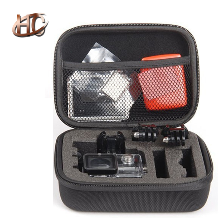 FREE SHIP Small Size Go Pro Shockproof Portable Case Waterproof Camera Bag Cover for GoPro HD