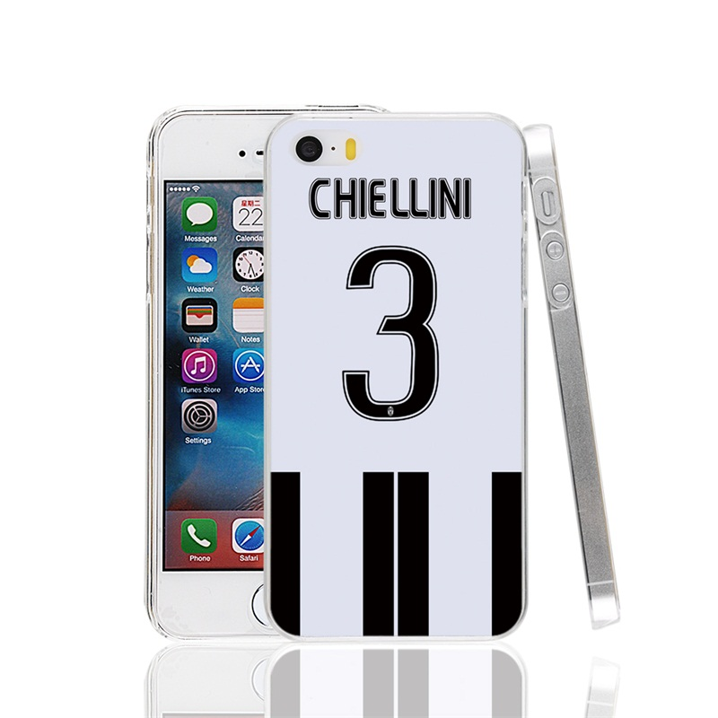 23278 Italy football soccer chiellini 3 Cover cell phone Case for iPhone 4 4S 5 5S SE 5C 6 6S 7 Plus(China (Mainland))