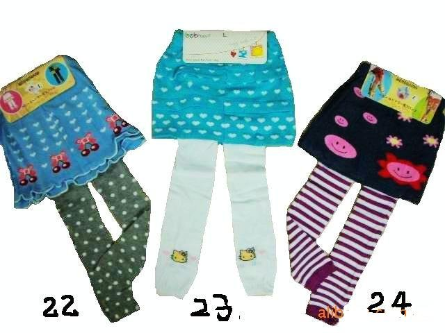wholesales babay/toddler/infant/baby/kids girl girls flower trouser/trousers dress pant cotton knit pants-free shipping