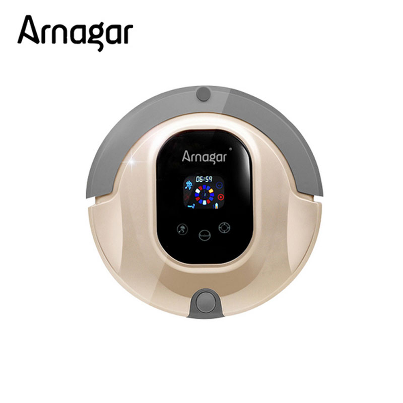 Arnagar Q3S Cleaning Robot Schedule,Auto Recharge,IR Remote Control Robot vacuum cleaner Carpet Cleaning Machine 800pa big power(China (Mainland))