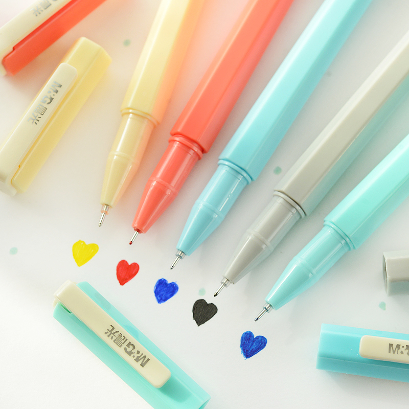 10pcs/lot candy student colored gel pen Korean stationery creative full needle school supplies<br><br>Aliexpress