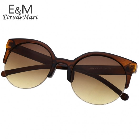 Best Selling New Fashion Sunglasses Sexy Retro Style Round Circle Cat Eye Sunglasses Retail/Wholesale B2# 41(China (Mainland))
