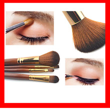 Stock!!!  High Quality 4 pcs/set  Makeup Brush Sets  Pony Hair Cosmetics Brushes Tools kit  Make Up Brushes Beauty Essentials
