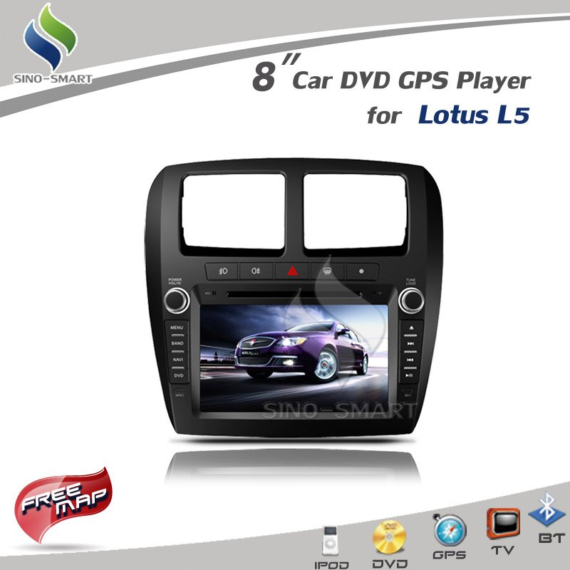 Автомобильный DVD плеер OEM 8 GPS IPOD Bluetooth Lotus L5 + rl138