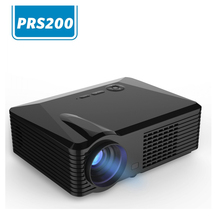 2500 lumens portable LED projector for video 5.0inch Single lcd panel with Ultra High Power LED light with keyston correction