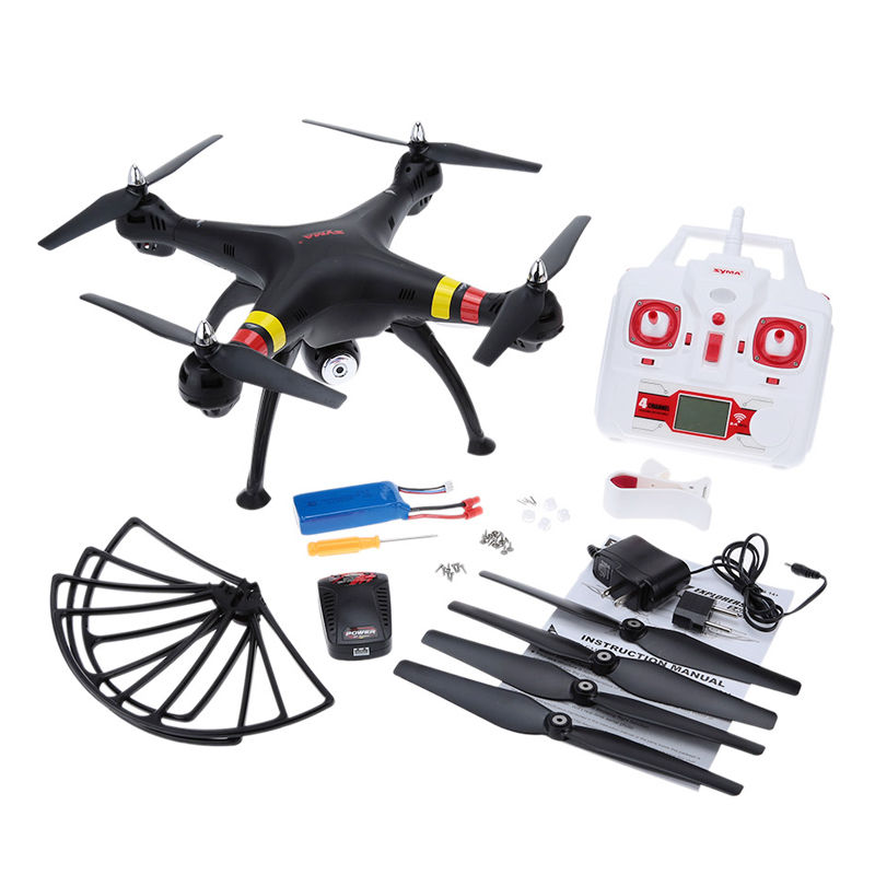 Syma X8W Explorers RC Quadcopter WiFi FPV 4CH 6-Axis Gyro Drone w/2MP Camera RTF with Battery FPV Quadcopter