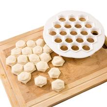 1pcs 19 Holes Dumplings Maker Mold DIY Plastic Dumplings Tool Jiaozi Machine Dough Press Ravioli Maker Mould Pastry Tool(China (Mainland))