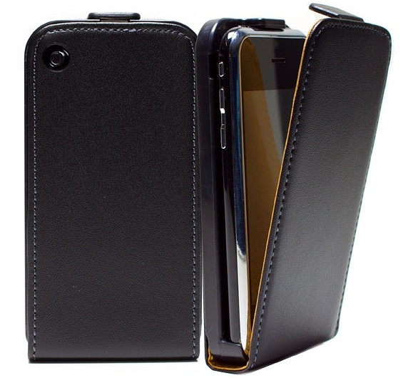 For Apple Iphone 3 / 3G / 3GS Flip Leather Case Flipcover + Screen Protector(China (Mainland))