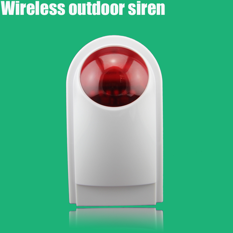 Wireless outdoor Siren for GSM WIFI Alarm Security System Alarm Accessories Siren(China (Mainland))