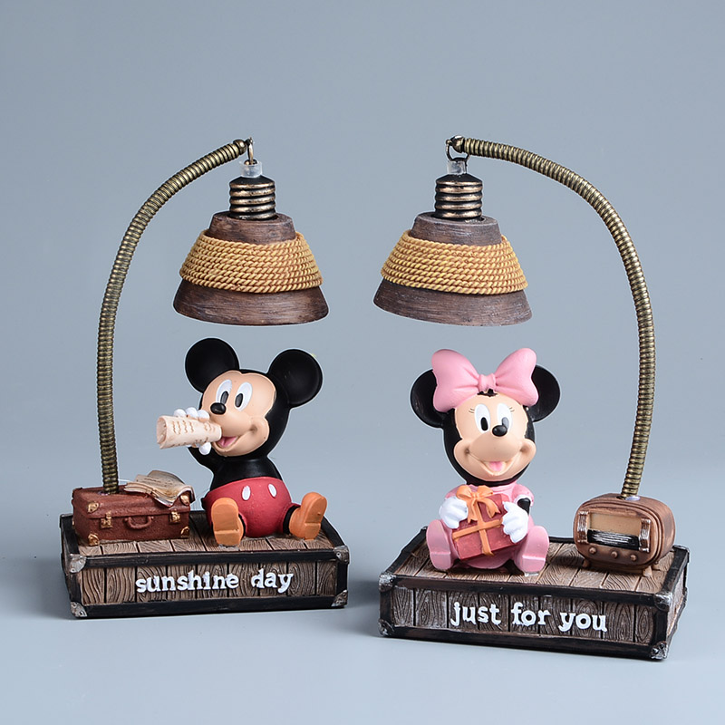 minnie mouse lamp promotion shop for promotional minnie mouse lamp on. Black Bedroom Furniture Sets. Home Design Ideas