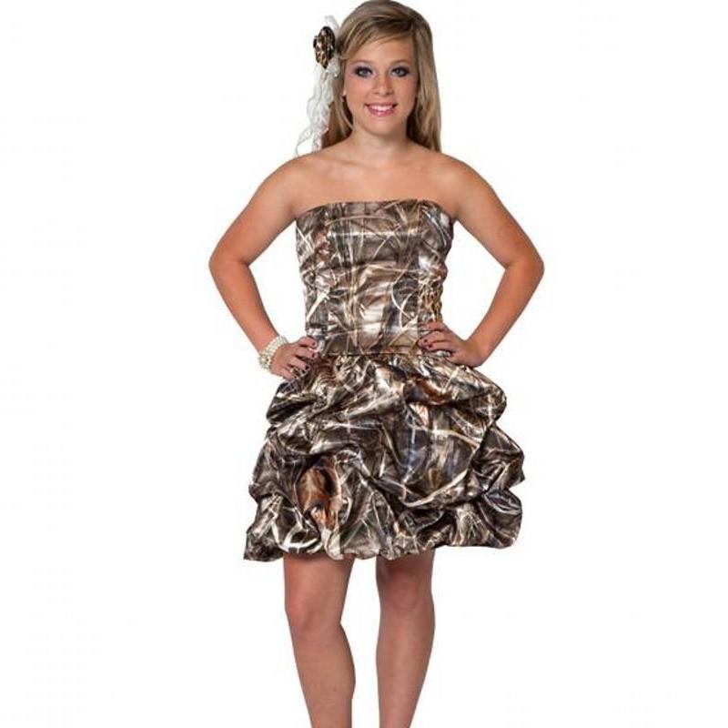 Camo Bridesmaid Dresses Canada - Wedding Dress Ideas
