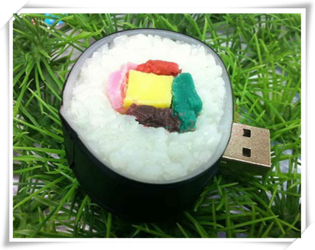 sushi USB Flash 2.0 Memory Drive Stick Pen/Thumb/Car usb flash drives 4gb 8gb 16gb 32gb 64gb S72(China (Mainland))