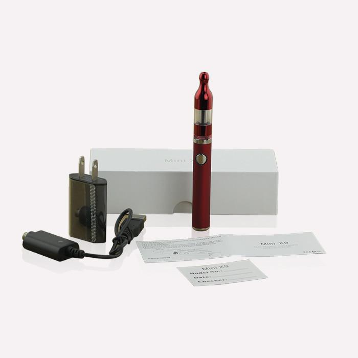 ถูก สีสันมินิx9ชุดVaporizerกับ900มิลลิแอมป์ชั่วโมงแบตเตอรี่มินิx9 Protankเครื่องฉีดน้ำที่ดีที่สุดevodปลอดบุหรี่อิเล็กทรอนิกส์2014ใหม่Vapeชุดปากกา