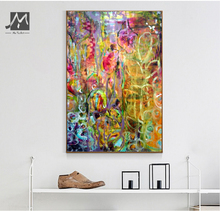 Buy Abstract oil paintings canvas modern canvas wall art handpainted wall paintings canvas pictures living room home decor for $33.92 in AliExpress store
