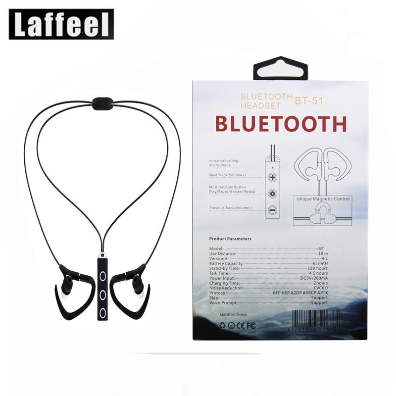 Brand LAFFEEL font b Sports b font Earphone Wireless Bluetooth Earphone 4 1 Stereo Earphone font