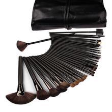 Promotion!Lowest Price! 32 pcs 32pcs Cosmetic Facial Make up Brush Kit Makeup Brushes Tools Set + Black Pouch Bag