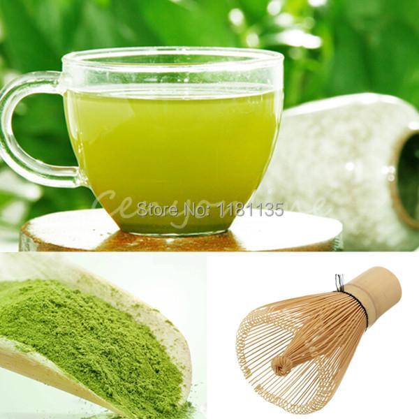2pcs/lot 100g Certified Organic Ultrafine Stone Ground * Matcha * Green Tea Powder Free Shipping(China (Mainland))