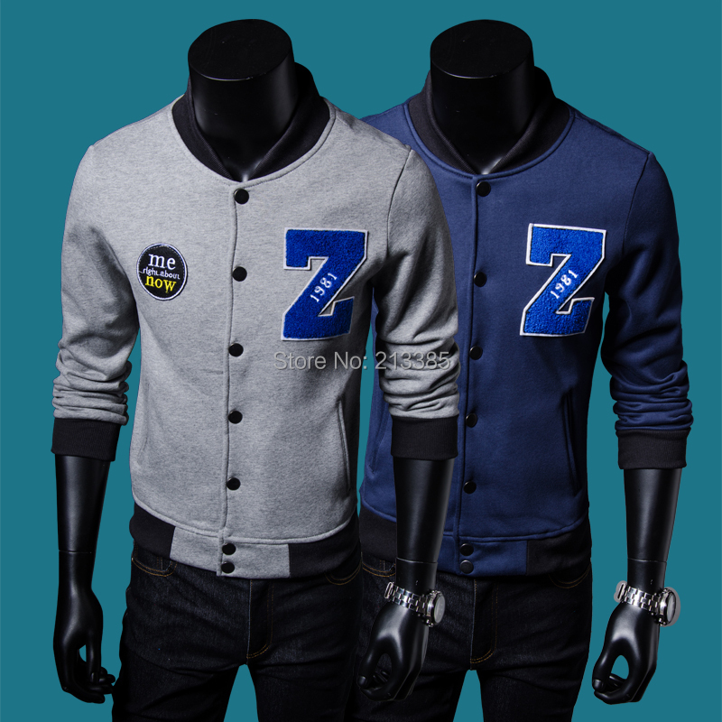 2015 New top brand man hoody sweatshirts letter print design fashion throwback baseball jerseys casual hoodies men - Man Show store