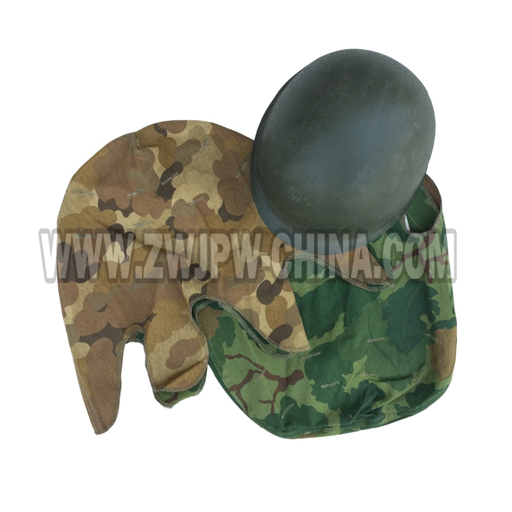 WWII US ARMY MITCHELL CAMO M1 HELMET COVER VIETNAM WAR USMC MARINE(China (Mainland))