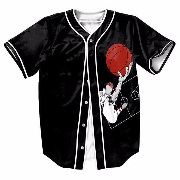 Shoot A Basket Wear Sport Baseball Jerseys New Hip Hop Streetwear US Size Buttons Homme 3D Printing Shirt Brand Clothing(China (Mainland))